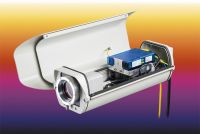 Outdoor protective housing for infrared cameras