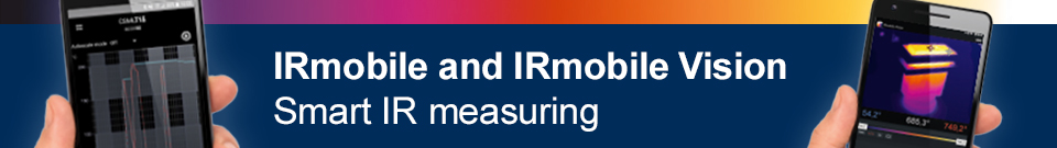 IRmobile and IRmobile Vision App Banner