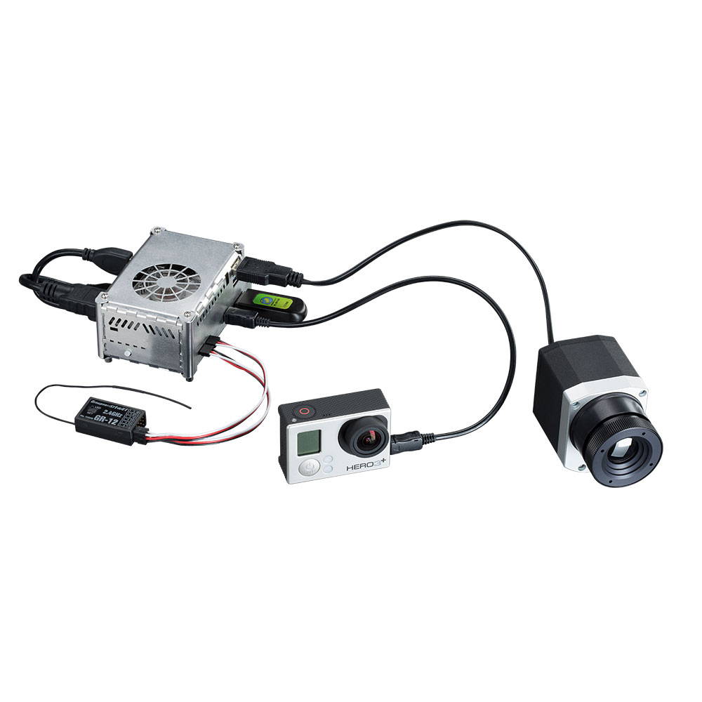 IR camera optris PI LightWeight kit with accessories